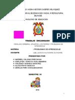 MONOGRAFIA PARALISIS CEREBRAL, EPILEPSIA, LOS PADRES Y PROBLEMAS DE APRENDIZAJE.docx