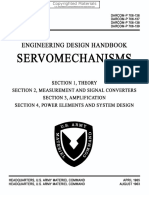 Engineering Design Handbook - Servomechanisms, Sections 1-4