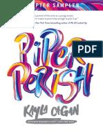 Piper Perish (Excerpt)