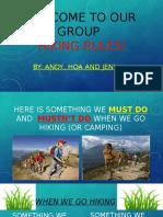 hiking rules hao and hoa