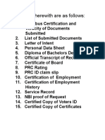 Omnibus Documents