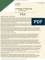 "Joseph Curtin Studios _ ""Some Principles of Violin Setup,"" Journal of the Vi"