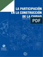 La Participación en La Construcción de La Ciudad