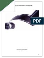 La Production Audiovisuelle Documentaire