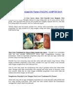 Obat Liver Tradisional de Nature PALING AMPUH DAN AMAN