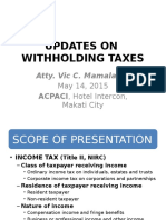 Withholding Tax 101