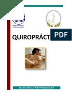 Manual Quiropractica Enero 2016
