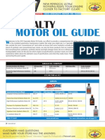 2010 Specialty Motor Oil Guide