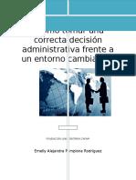 Decisión Administrativa