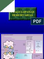 Coagulopatias hereditarias