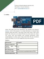 Pintu Bendungan Otomatis Bebasis Arduino Uno