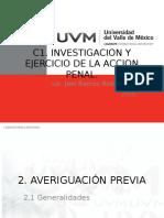 Investigacion y Ejercicio de La Accion Penal