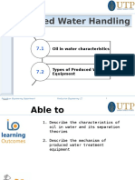 Produced Water Handling