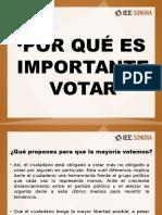 Es Importante El VOTO
