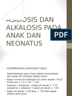 Asidosis Dan Alkalosis Pada Anak Dan Neonatus