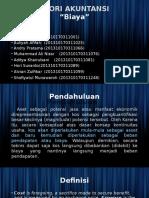 Teori Akuntansi - Biaya PPT