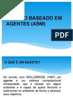 Modelo Baseado Em Agentes (Abm)