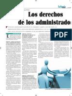 Los Derechos de Los Administrados - La Gaceta Jurídica Bolivia - Autor José María Pacori Cari