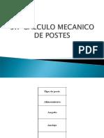 Calculo Mecanico de Postes
