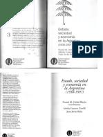 Girbal Blacha Estado, Sociedad y Economía en La Argentina 1930-1997