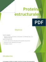 Proteínas estructurales
