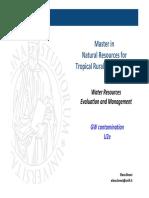 U2e GW Contamination WRME 2015-16