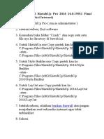 Langkah Install SketchUp Pro 2016 16