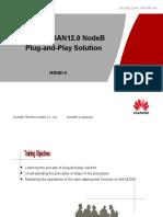 WCMDA RAN12.0 NodeB Plug and Play Solution 20091230 B 1.1