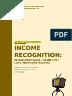 AFAR - Income Recognition