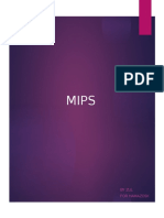 CHAPTER 4 (MIPS)
