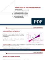 Formulación y evaluación de proyectos de inversión (punto de equilibrio)