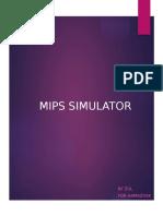 CHAPTER 5 (MIPS SIMULATOR)