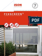 RENSON Fixscreen Eng