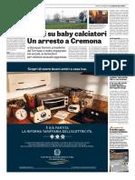 La Gazzetta dello Sport 15-12-2016 - Arresto a Cremona
