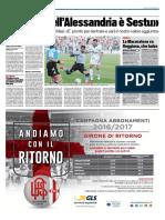 TuttoSport 15-12-2016 - Calcio Lega Pro