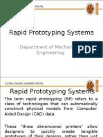 18632 Rapid Prototyping