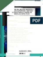 Asfalto-metodo de Diseño Mezclas