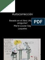 3.- Autocorrección