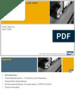 Fleet Maintenance With SAP Update EnP4