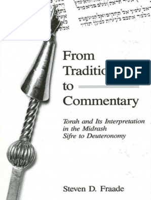 Steven D Fraade From Tradition To Commentary Torah And