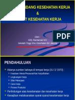Materi 6 & 7 Keamanan KKNI - UU Kesehatan Kerja & Syarat Kes.