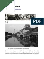 Sejarah Semarang
