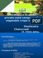 ppt,seed company,Dr YSP,nauni,Solan
