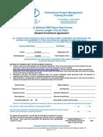 Enrollment Agreement PS 190S TSI