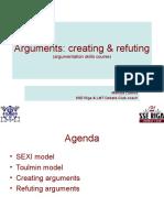 Argumentation Skills