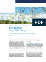 2 Energy 2050 Insights From the Ground Up