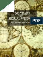 1000 Years of Sexual Wisdom eBook