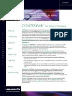CONTEX Web for Service Providers