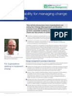 Change Managment Case Study 2015