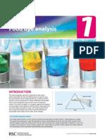 UV-Vis Exercise 1 - Food Dye AnalysisTeacher Resource Pack_ENGLISH